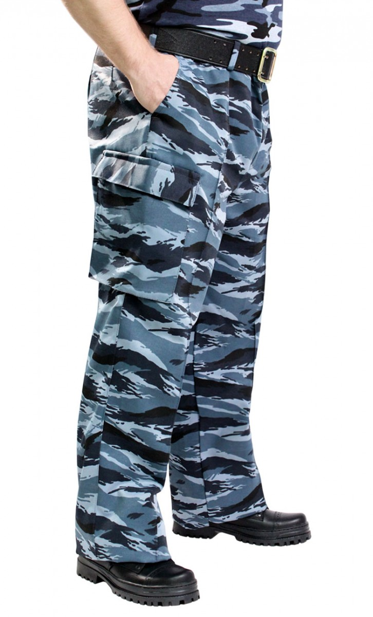 Брюки военно-полевые серый КМФ ткань Грета