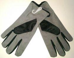 Перчатки замша+ткань