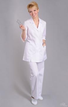 Блуза женская ЕВА белый