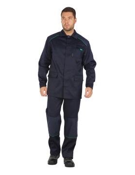 Костюм Маскер темно-синий больших размеров