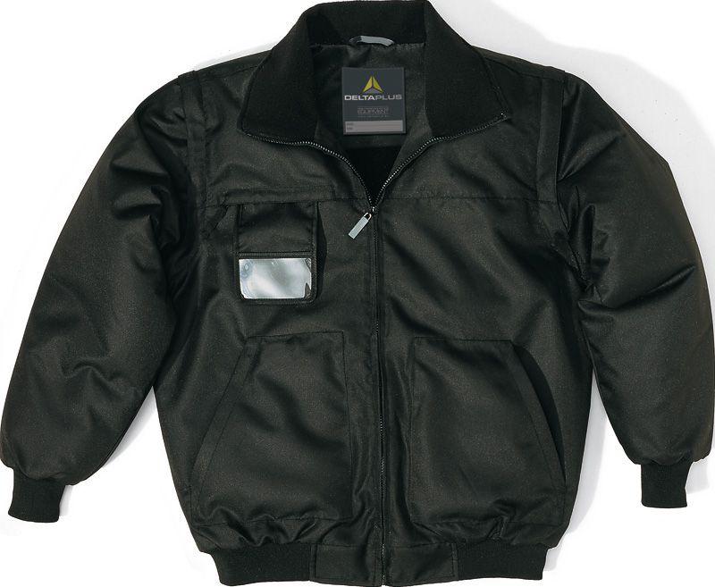 Куртка с отстегивающимися рукавами RENO черная