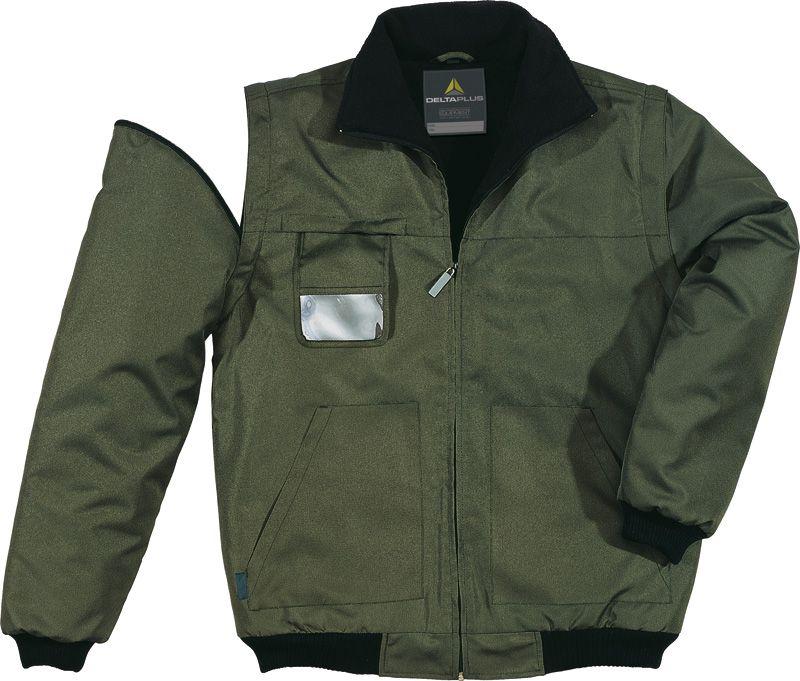 Куртка с отстегивающимися рукавами RENO зеленый
