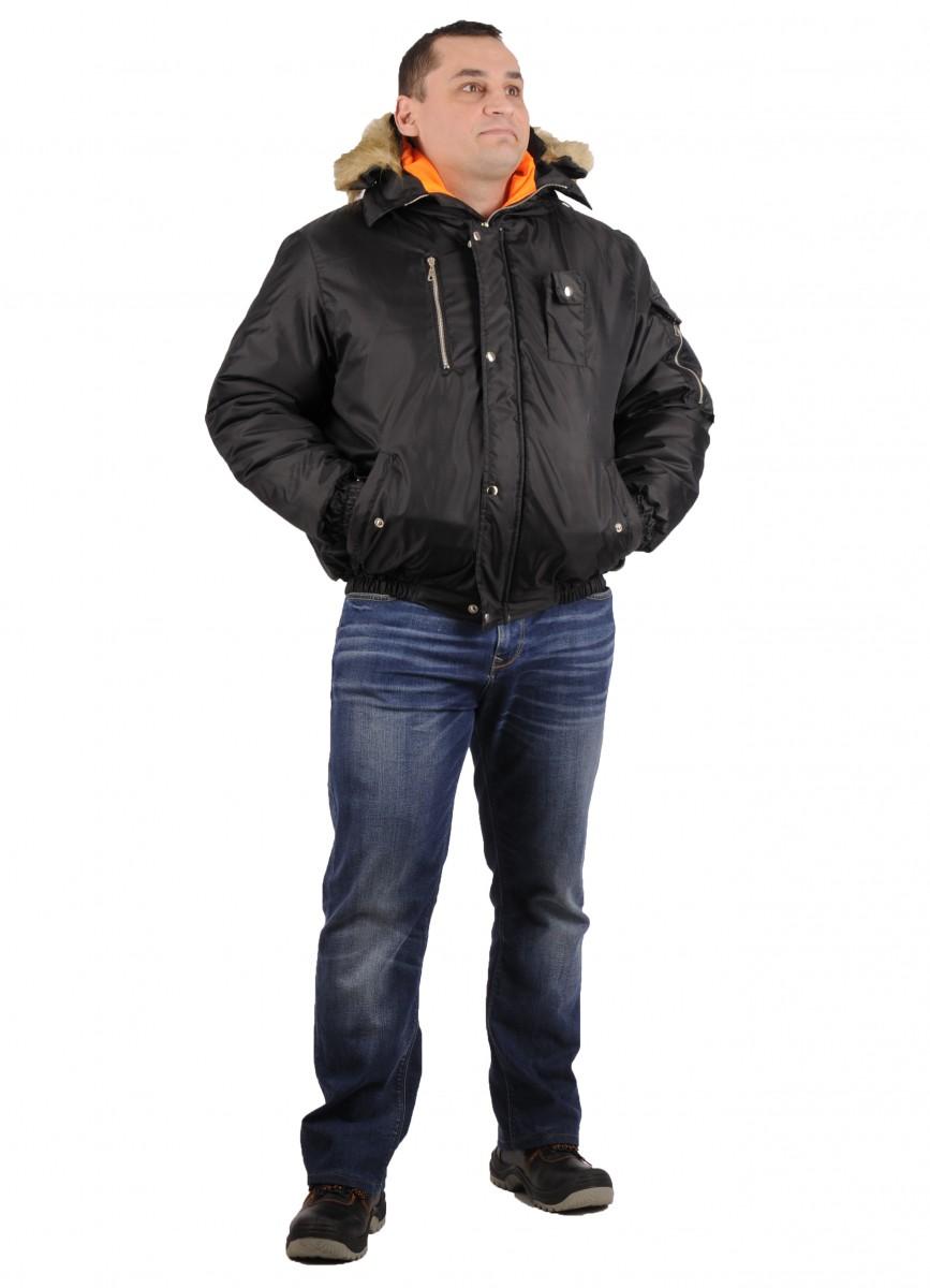 Куртка Аляска Эталон черная