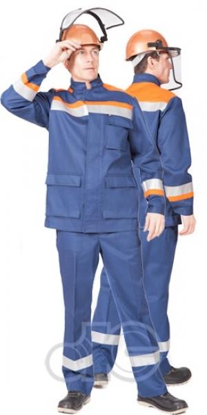 Костюм для защиты от электродуги ЭНЕРГИЯ (куртка, брюки), защита до 10 кал/кв.см.