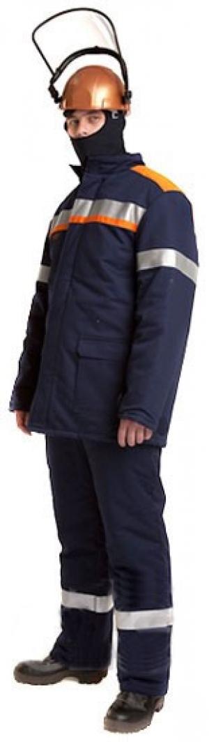 Костюм для защиты от электродуги СП06-3/60 (куртка, брюки), утепленный, защита до 60 кал/кв.см.
