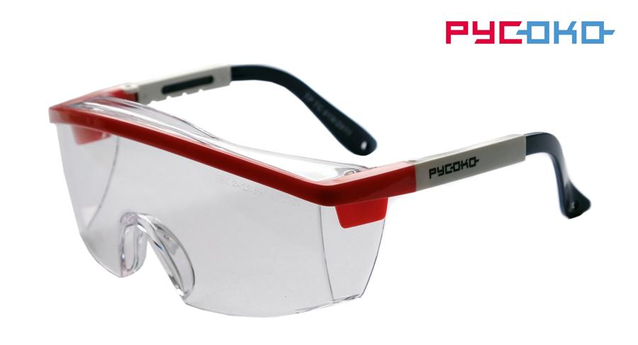 Защитные открытые очки Авиатор
