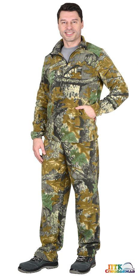 Костюм флисовый куртка 07688