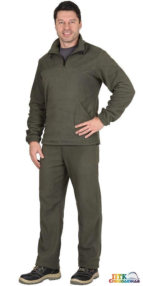 Костюм флисовый куртка 07690