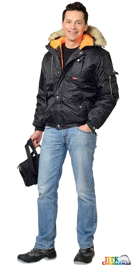 "Куртка ""АЛЯСКА"" чёрная"