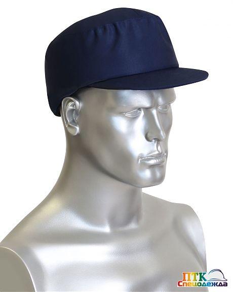Каскетка-бейсболка защитная темно-синяя БРИЗ