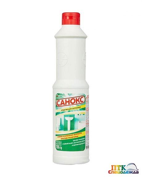 Чистящее средство для сантехники САНОКС 750 мл