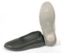 Тапочки-туфли рабочие женские