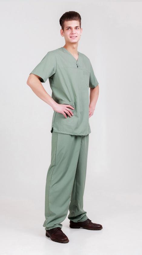 Костюм хирургический мужской
