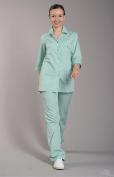 Блуза женская ЛАЙМ зеленый