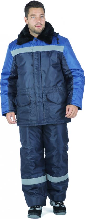 Костюм РЕГИОН утеплённый синий