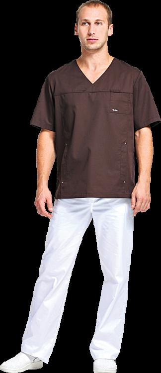 Блуза Шоколад №2 разноцветная