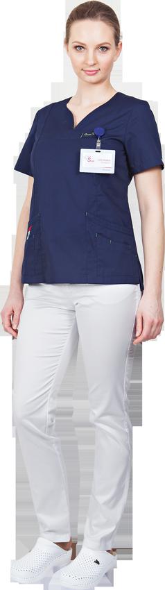 Блуза Нева №2 разноцветная