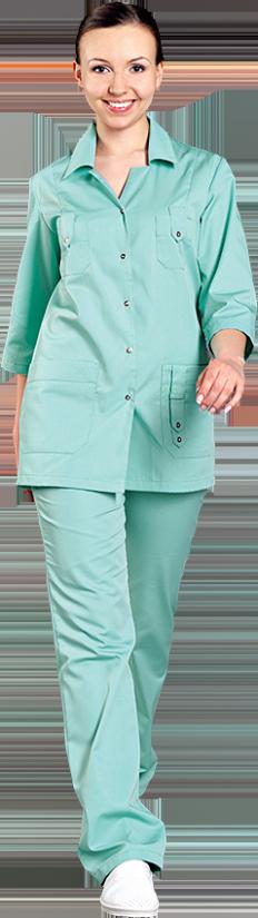 Блуза Лайм разноцветная