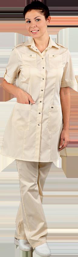 Блуза Сафари №2 разноцвтеная