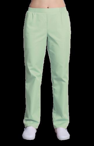 Брюки женские, цвет зеленый
