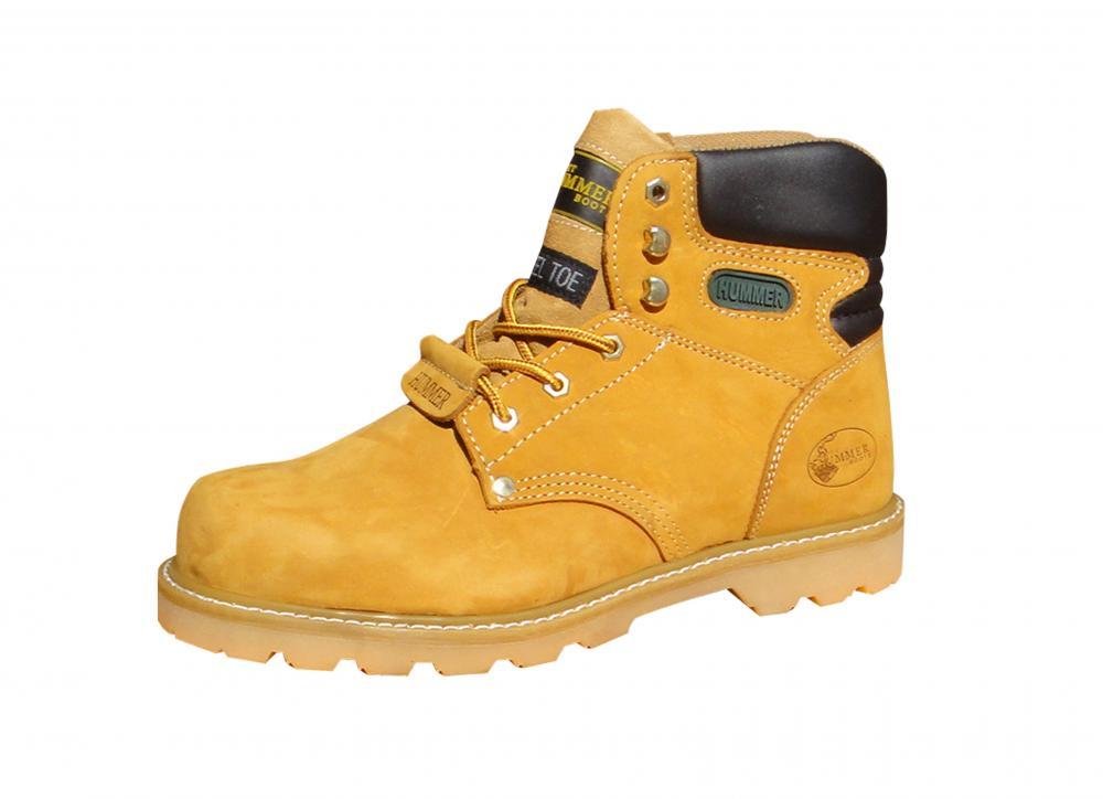 Ботинки Хаммер (Hammer) с МП желтые