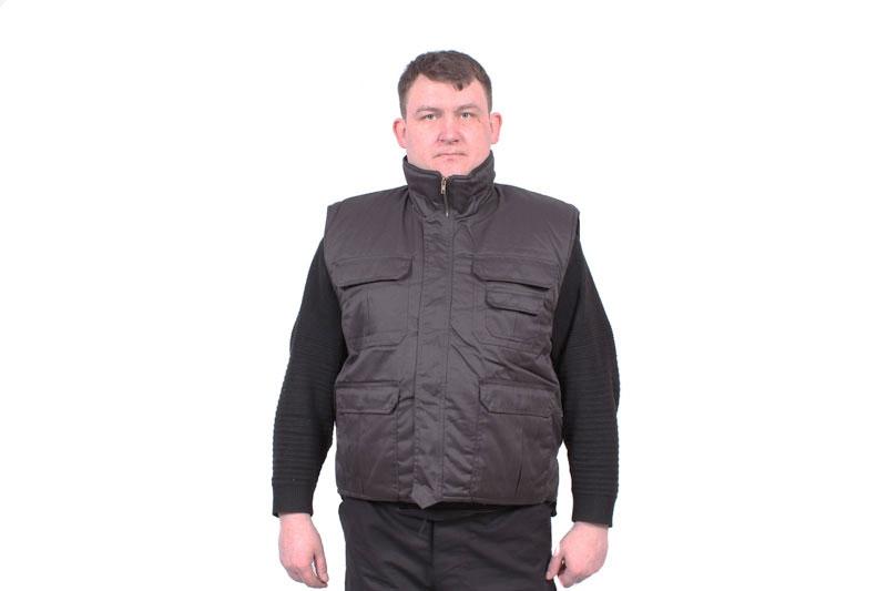 Жилет Рейнджер КМФ Urban, чёрный, олива