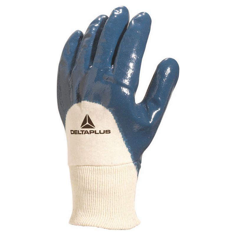 Перчатки нитрил на хлопчатобумажной трикотажной основе NI150