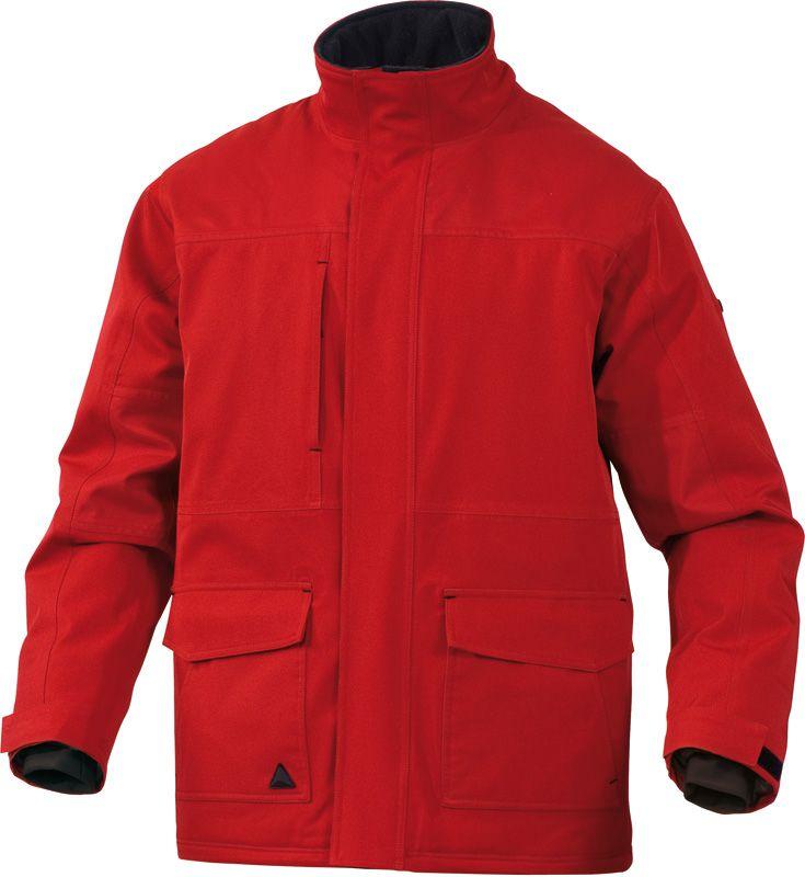 Куртка Парка MILTON красная