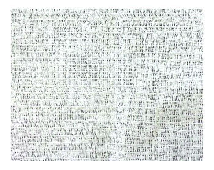 Вафельное полотно отбеленное в рулонах 140г/м2