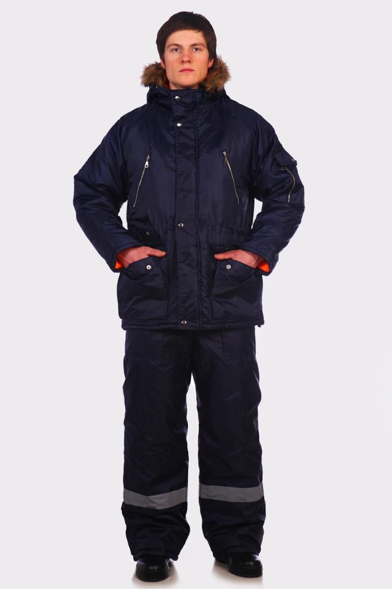 Куртка Аляска Эталон синяя