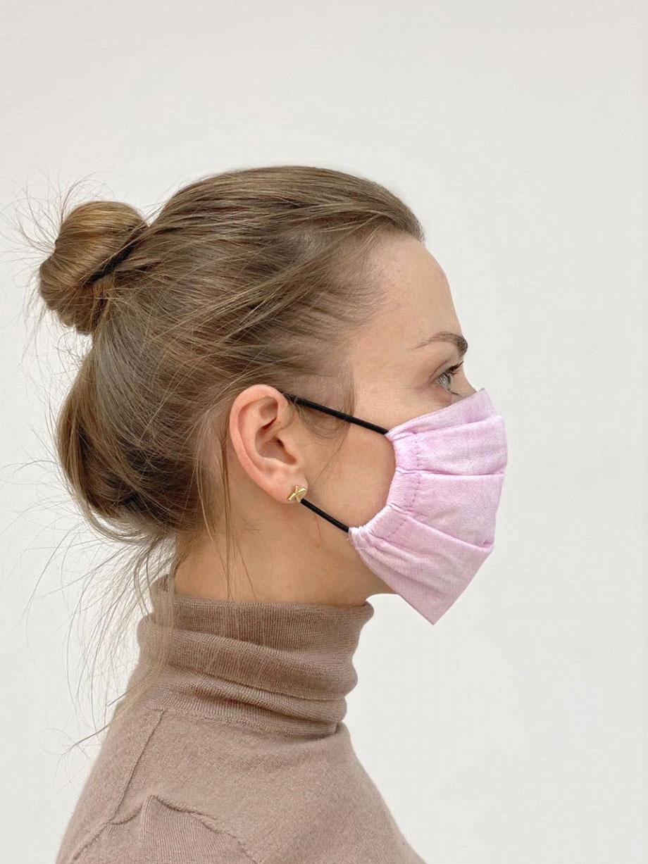 Трехслойная защитная маска