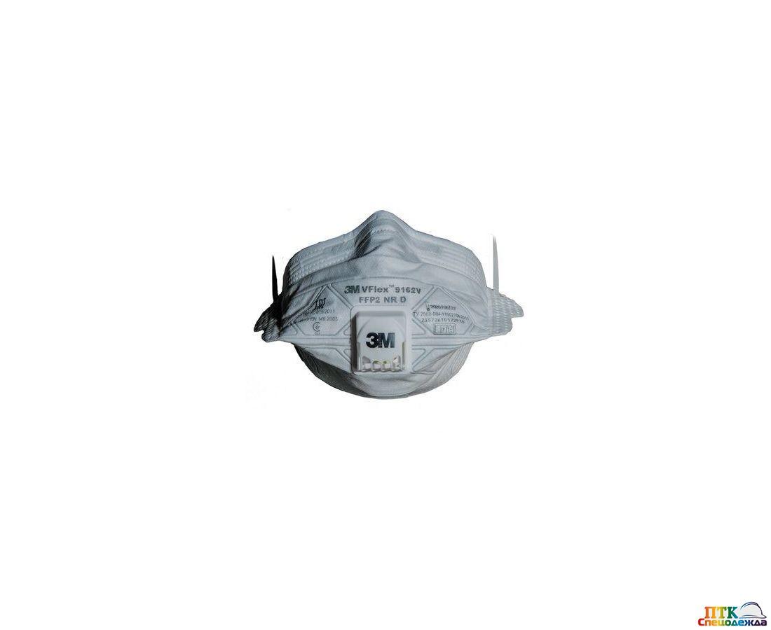 Респиратор 3М™ 9162V VFlex™, FFP2, с клапаном (Рес 117)