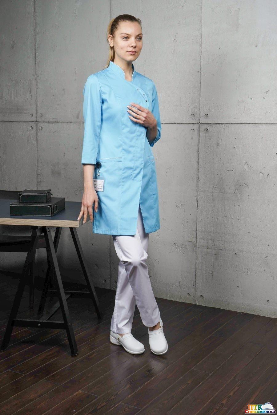 Блуза «Восток» голубой NEW (ЛЛ 2223.06)