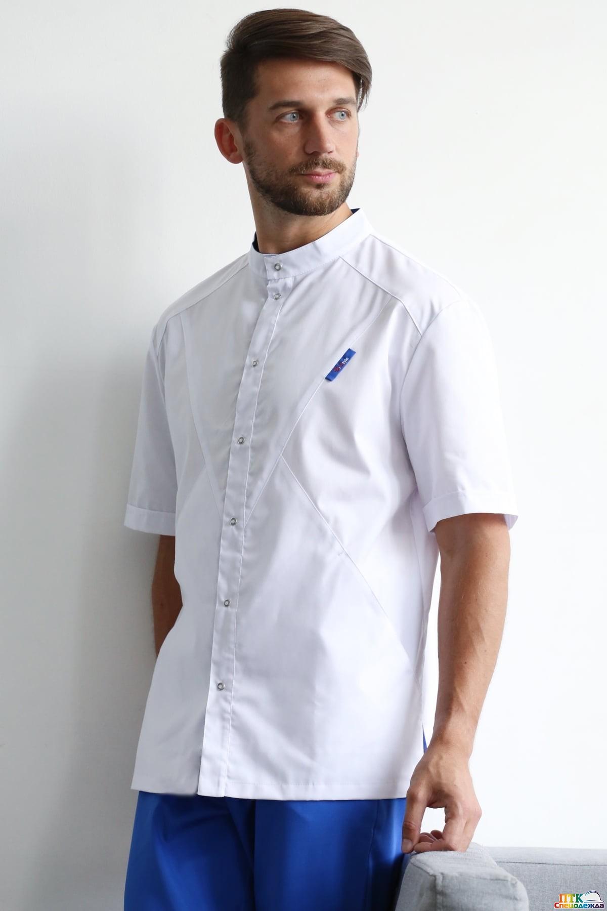 Блуза Алекс белого цвета