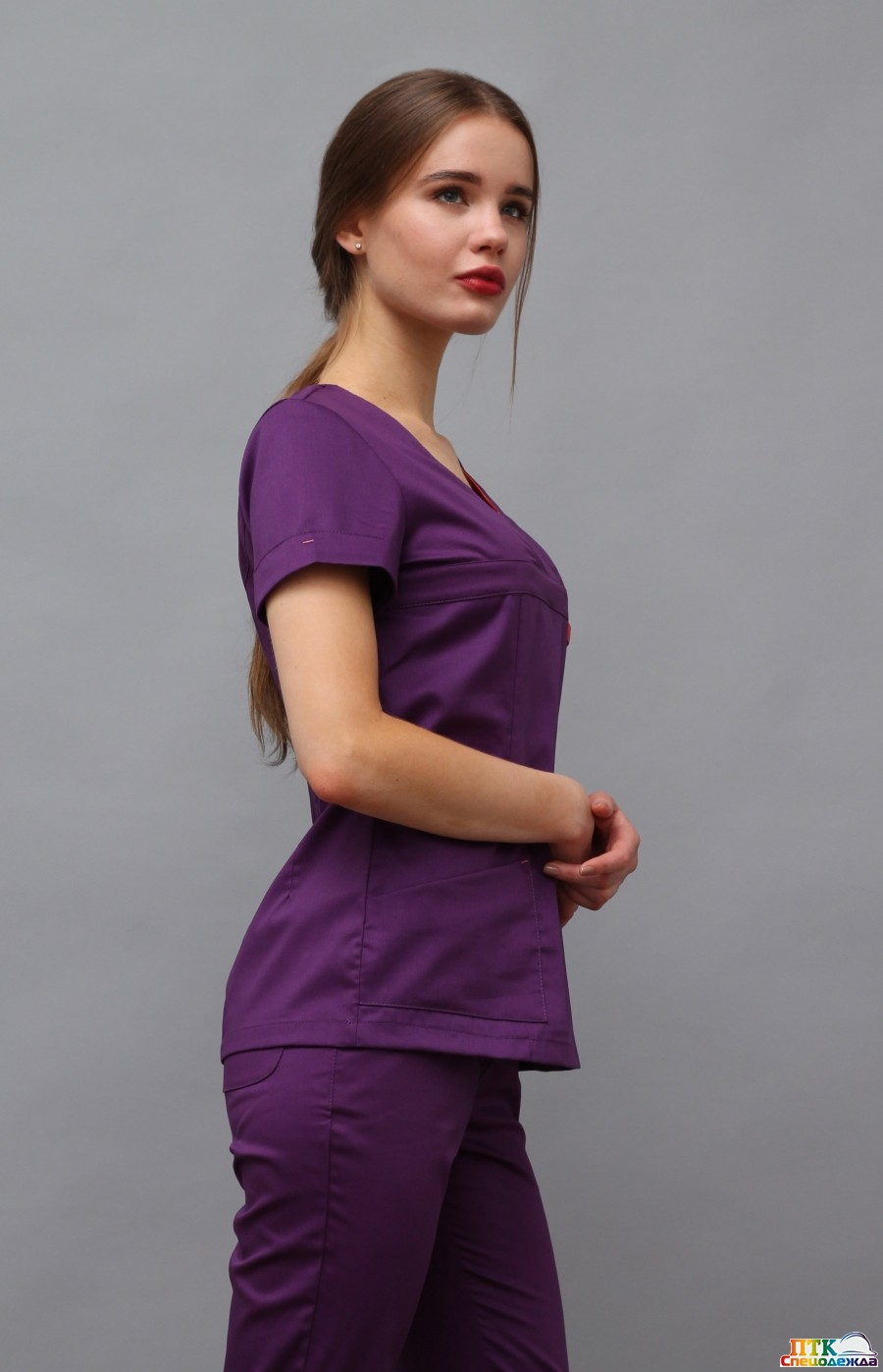 Блуза Альфа разноцветная