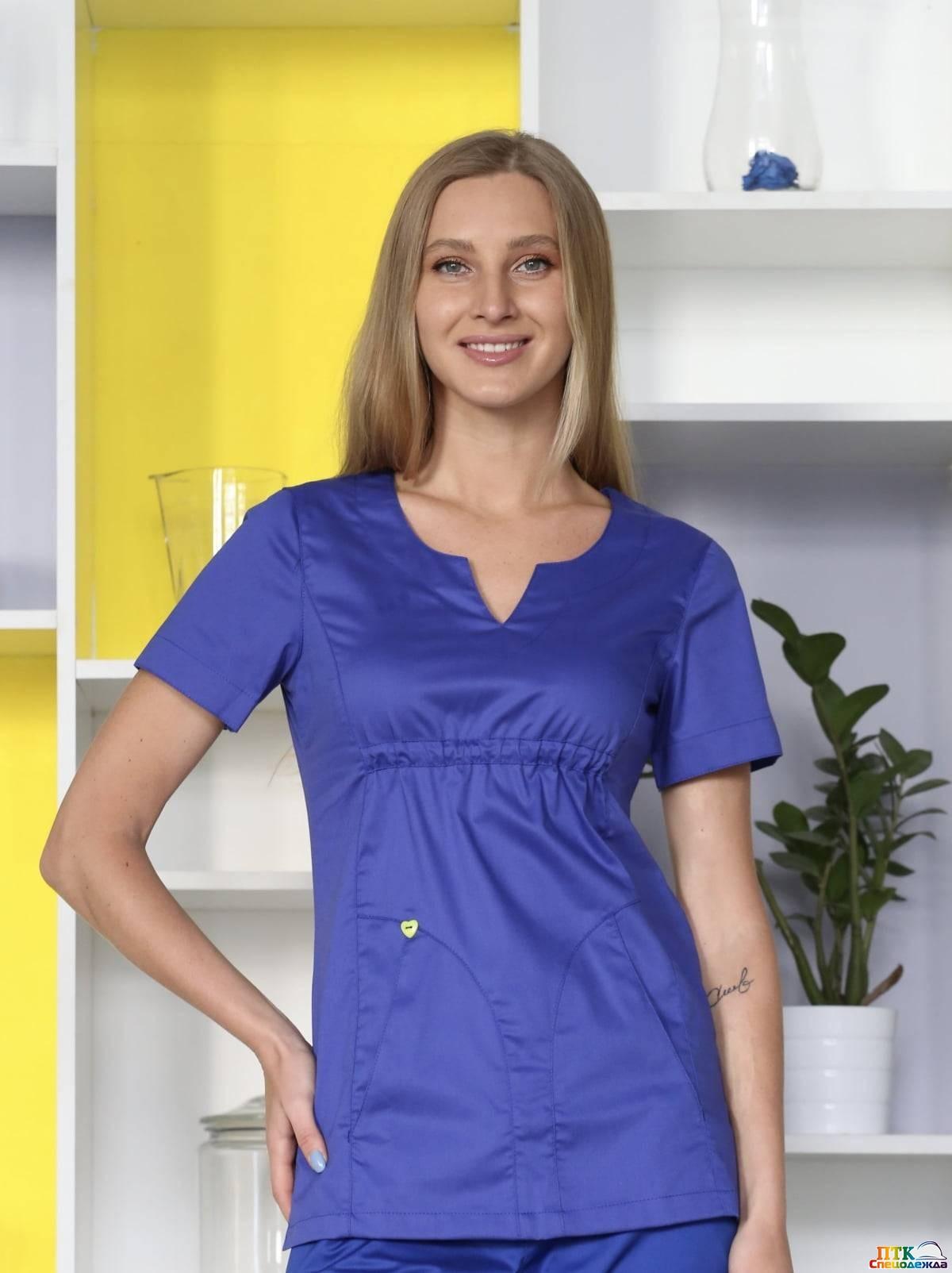 Блуза Колибри разноцветная