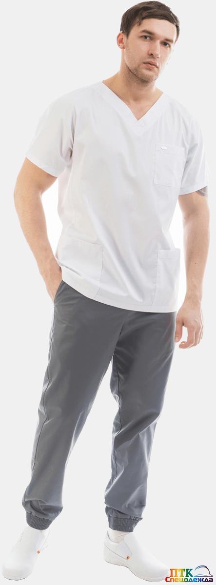 Блуза «Крош», белая NEW (ЛС 3214.01)