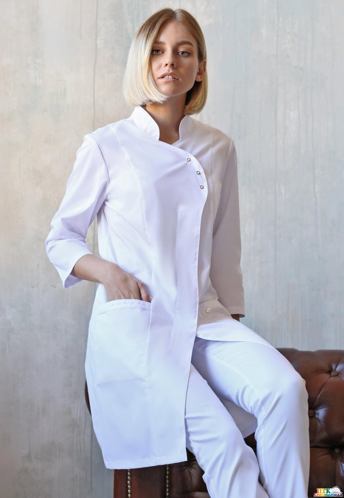 Блуза Восток белая