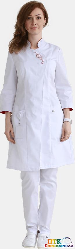 Блуза Восток белого цвета 1