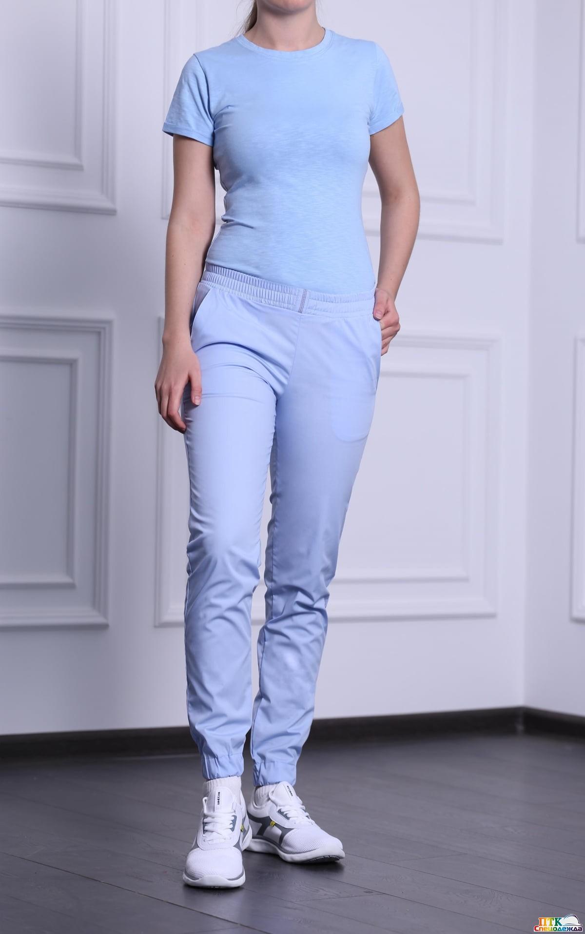 Брюки женские Релакс, голубые NEW (Брю 3403.06)