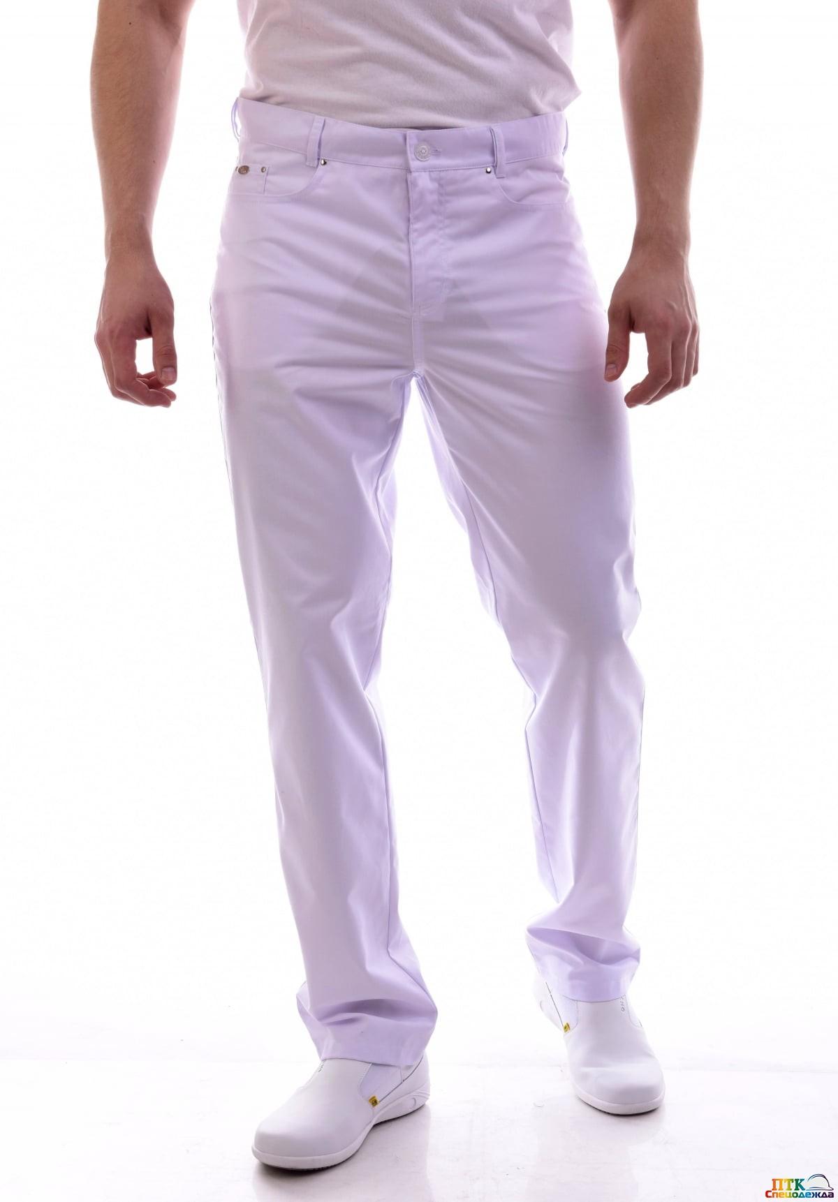 Брюки мужские джинсы белые