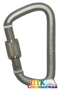 Карабин VENTO Стальной универсальный, (vpro 0012) с муфтой, раскрытие 23 мм (Поя 134)