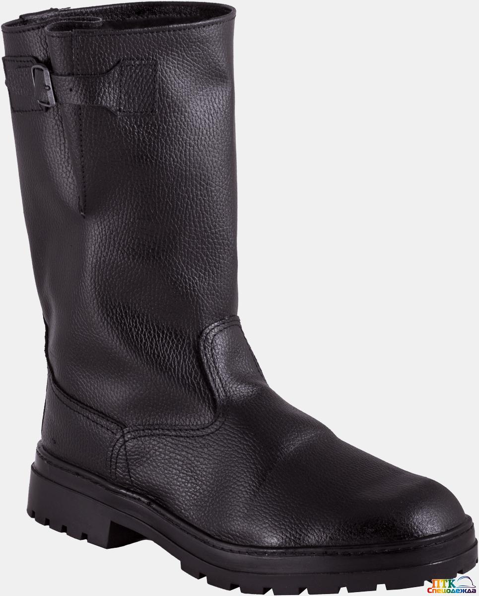Сапоги ГОЛИАФ, бортопрошивные юфтевые резина (Сап 115)