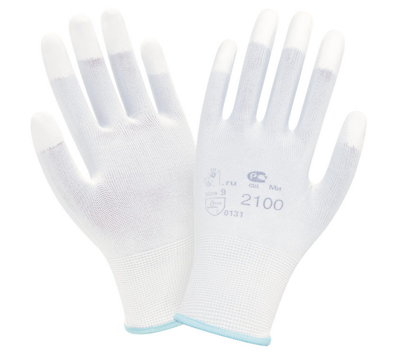 Перчатки Нейлон с полиуретаном