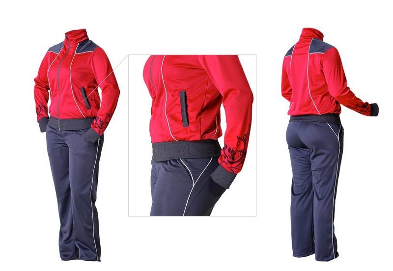 Спортивный костюм модель 14 | Спецодежда оптом и в розницу.