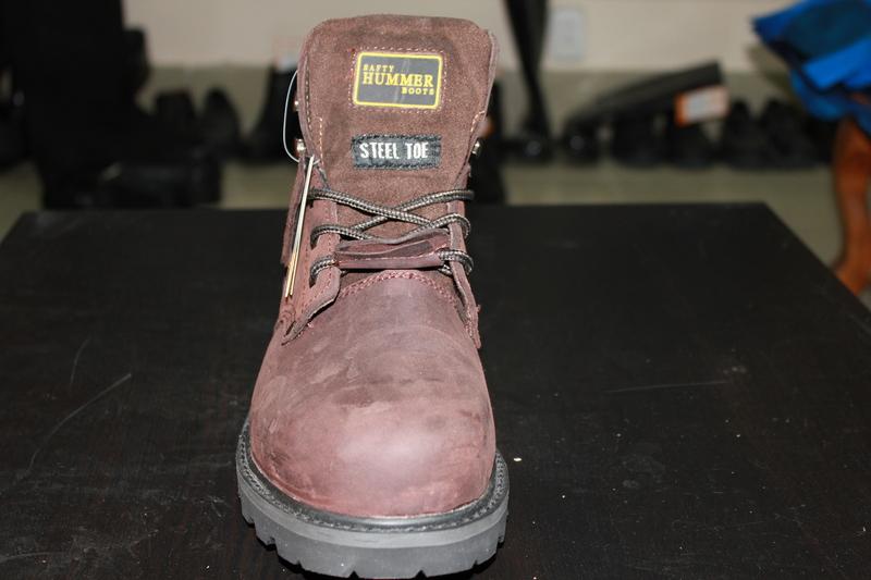 Ботинки Хаммер (Hammer) с МП коричневые